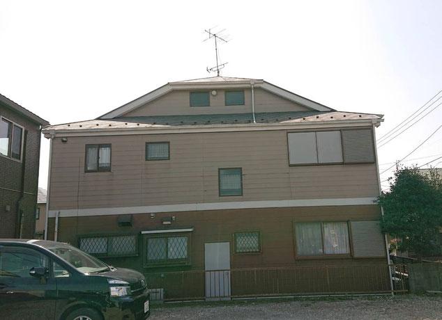 鎌ケ谷市南初富の屋根外壁塗装 前