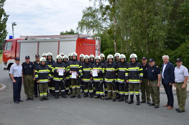 Branddienstleistungsprüfung 2017 der FF Hainersdorf
