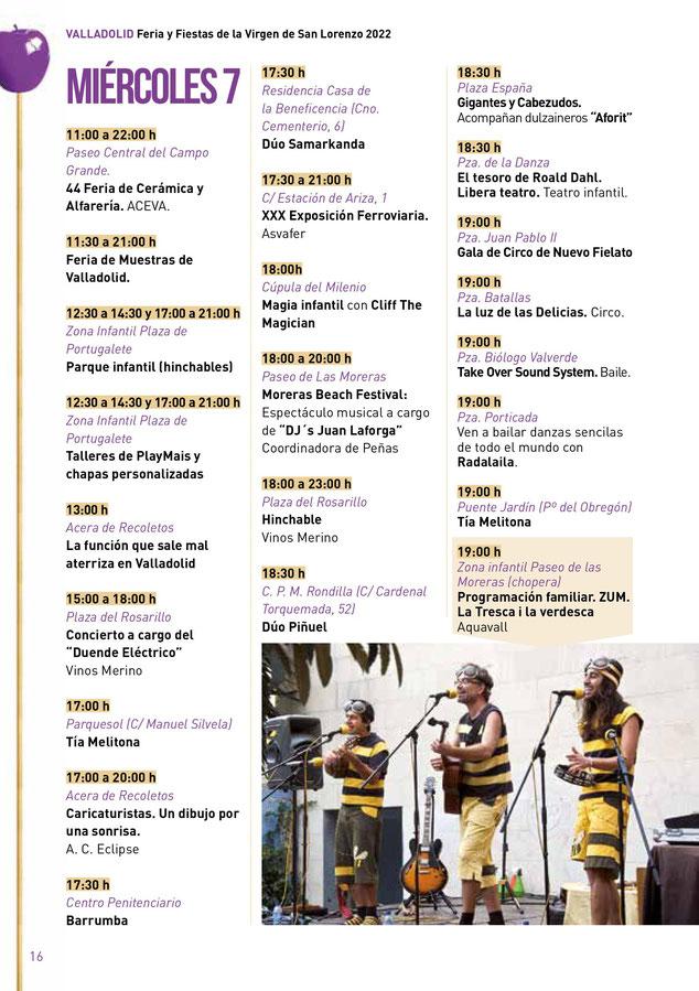 Feria y Fiestas de Valladolid 2015 Programa Harley Davidson