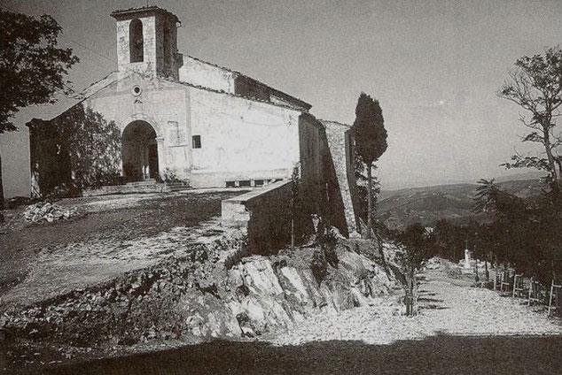 Campobasso Chiesa Santa Maria del Monte inizio Novecento