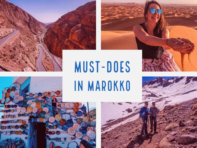 Die fünf besten Ausflüge ab Marrakesch!