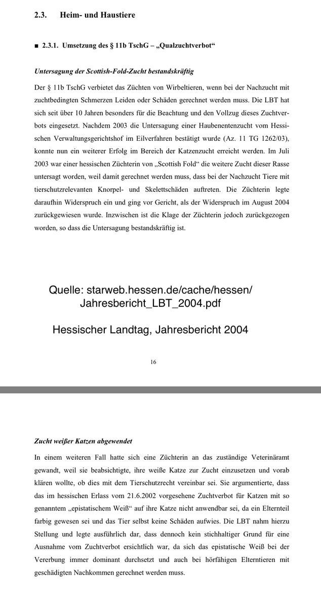 Quelle: Hessischer Landtag, Jahresbericht 2004