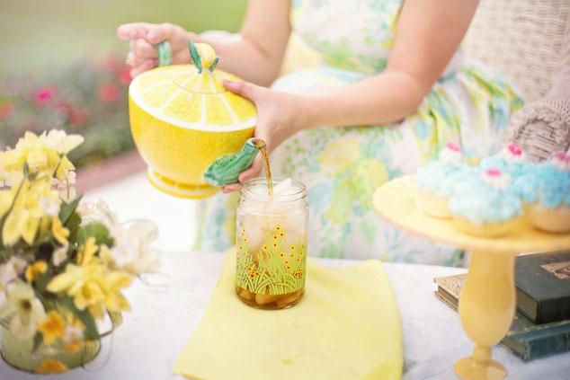 Eistee-Rezepte Sommer