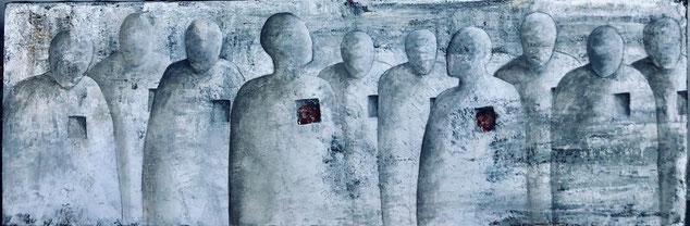 Sophie Hustin peinture. Acrylique sur toile. galerie d'art