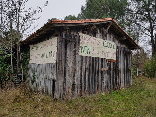 Crédit photo: Collectif de soutien École Primaire de La Fontaine - Haureuils - Le Barp