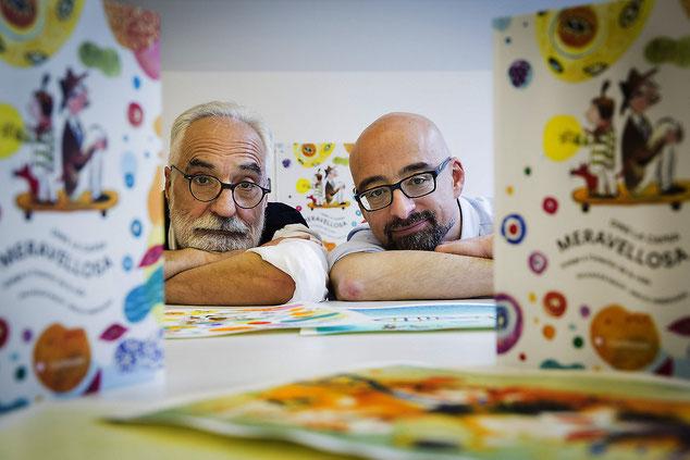 Emilio i Salvador, fotografia de Pere Virgili