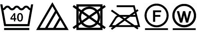 内カバー「パシーマ® :  取扱絵表示」