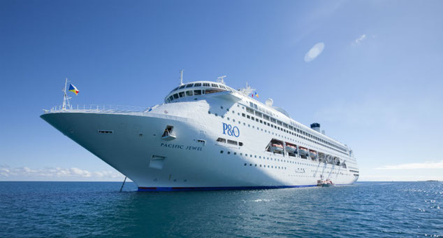 Pacific Jewel // © P&O Cruises