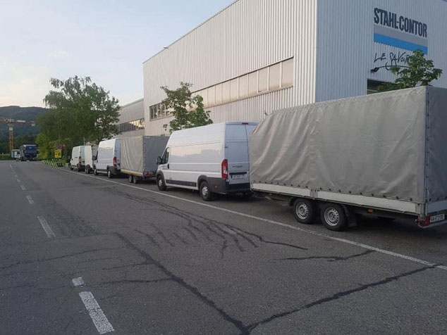 prevoz robe Binningen Srbija