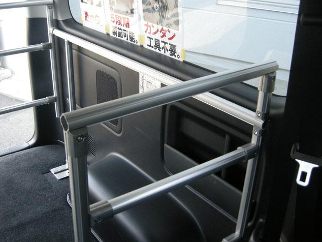 ハイエース NV350キャラバン キャリア 棚 ラック NV350 仕事 職人棚