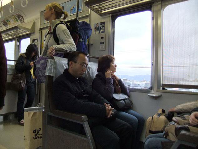 Direction la gare d'Inari