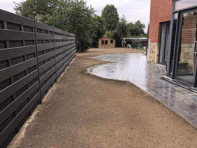 aménagement extérieur création parc et jardin jardinier province de Liège