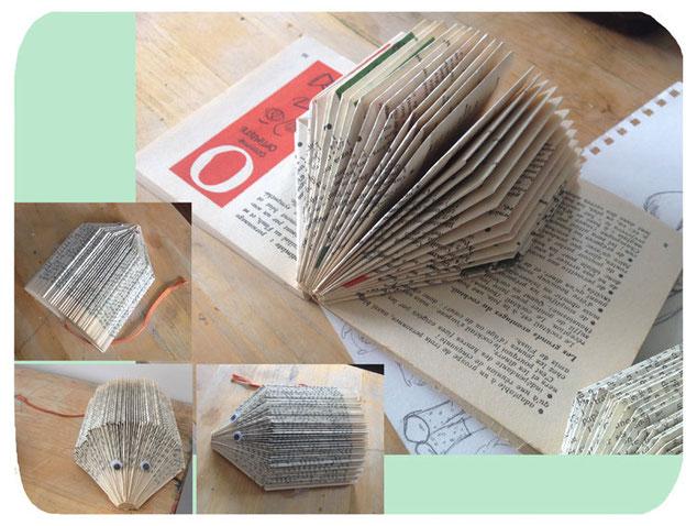 hérisson en papier hellofairepart