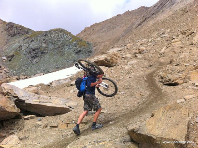 per 150 metri di dsl di pedalare non se ne parla......Alex agguerrito