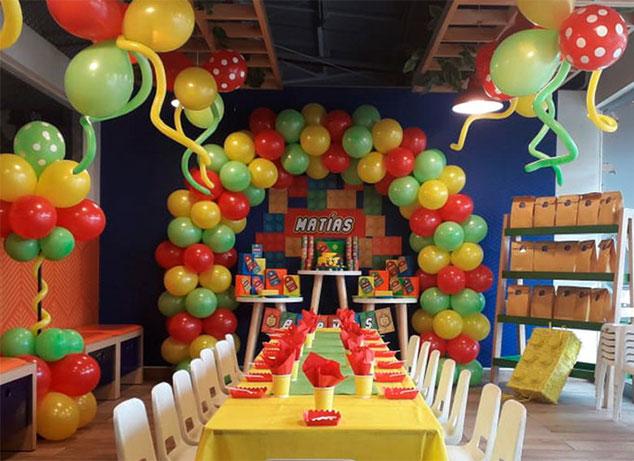 como planificar una fiesta infantil