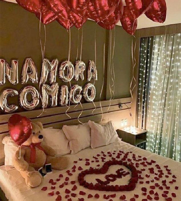 decoracion romantica para san valentin