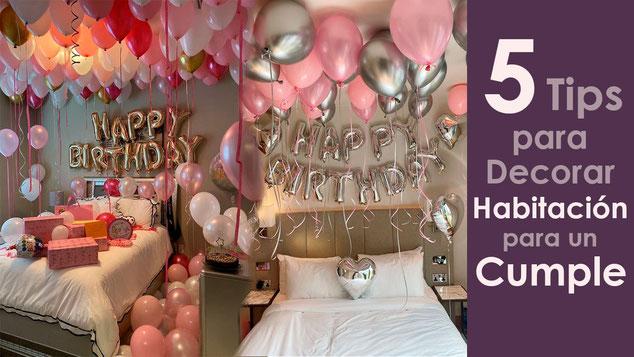 tips para decorar habitacion para un cumpleaños