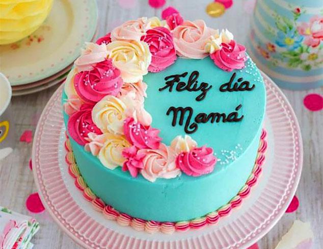 pastel para festejar a mama