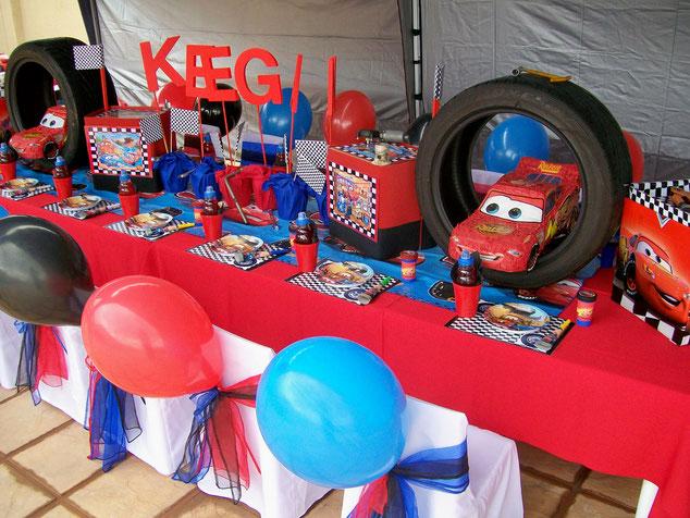 decoracion mesa para fiesta de niños