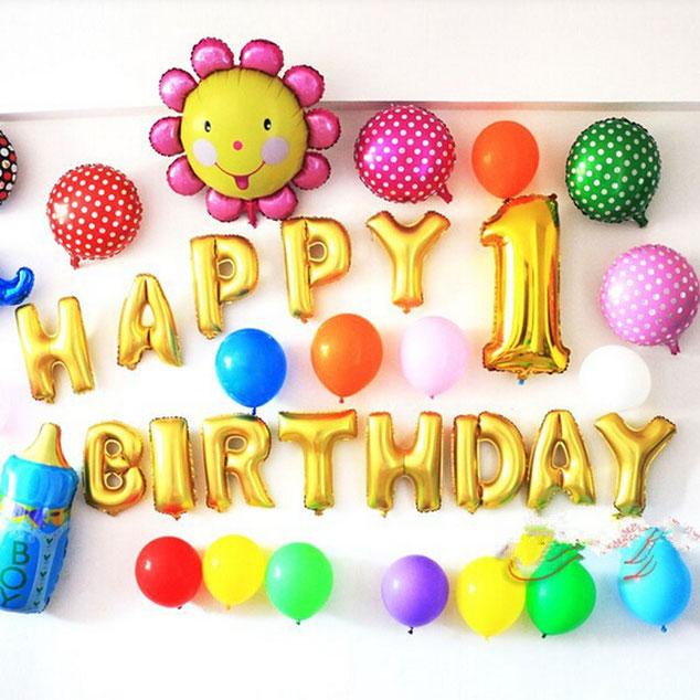 decoracion con frases para fiesta de cumpleaños