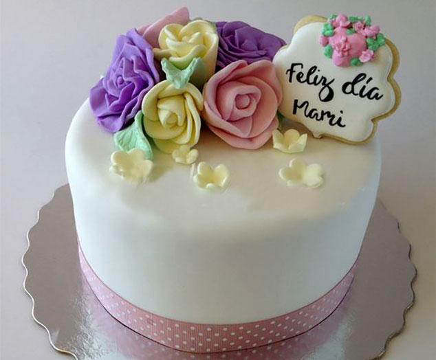 torta para festejar a mama