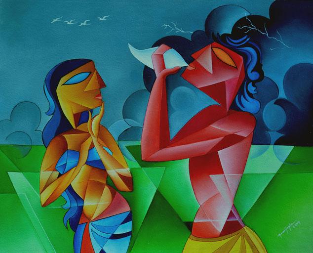raag-mala_painting_megh_raag_with_ragini_madhumadhabi_painter's_blog