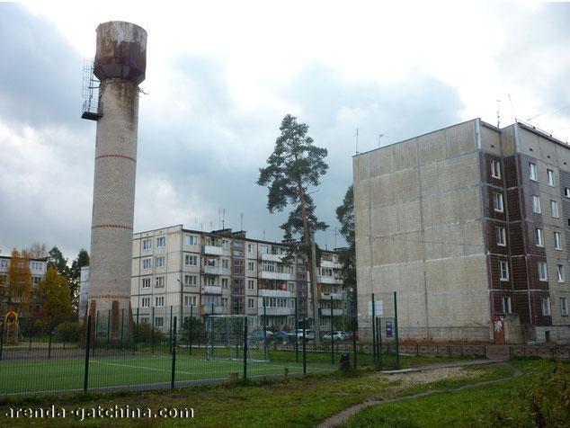 Водонапорная башня в Вырице