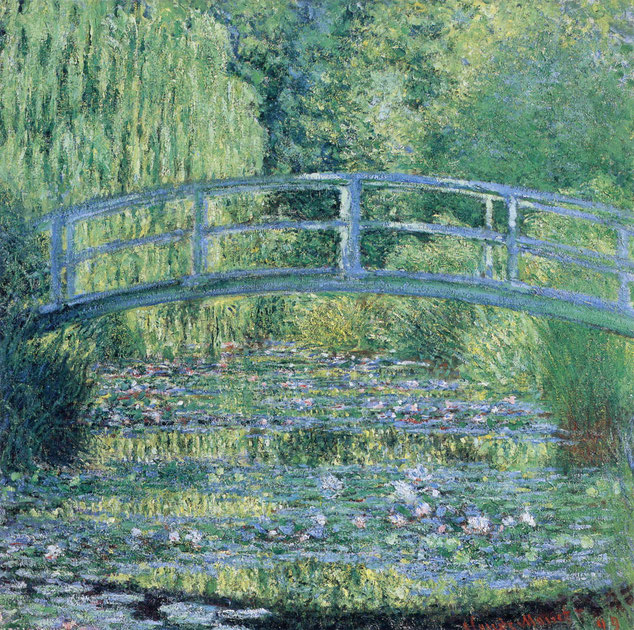 "Claude Monet, ""Stagno delle ninfee"" (1899)"