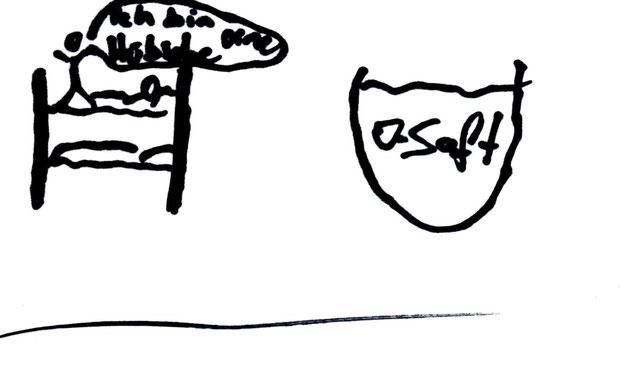 Marcus' Zeichnung