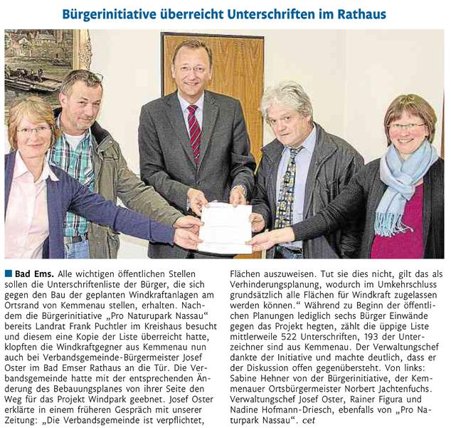 Rhein-Lahn-Zeitung v. 18.06.2015