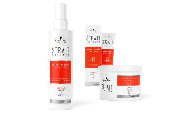 Schwarzkopf - Professional - Haarglättung - Premium - Strait Therapy - Relaunch - Packaging - Design - DesignKis - 2012 - Verpackung