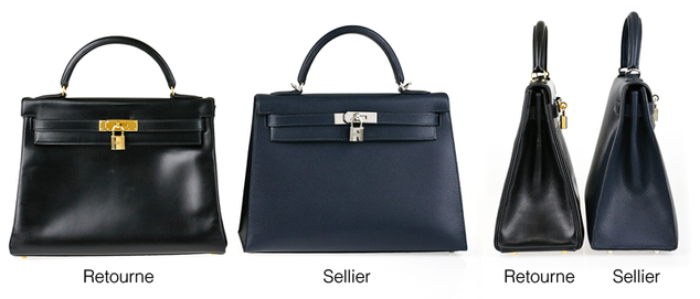 Kelly bag returned saddler difference between the two
