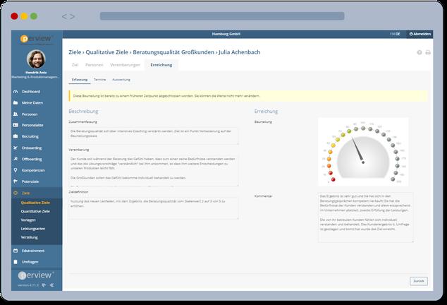 Zielvereinbarung - PLUSpoint HR