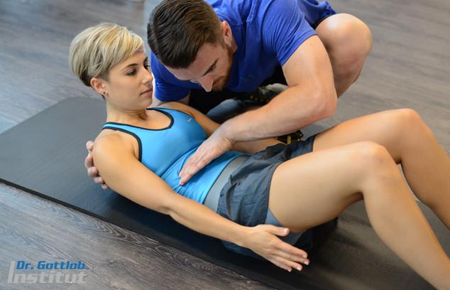 Wirbelsäule/Core Lehrgang Dr. Gottlob Institut für Personal Trainer, Physiotherapeuten, Ärzte, Fitnesstrainer, Leistungssportler usw.