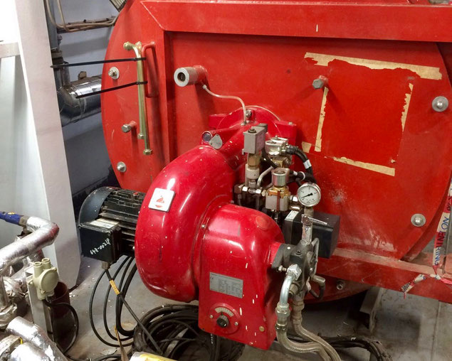 Replacement viscosity controller on HFO booster unit