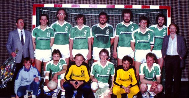 Vize-Meister Saison 1981