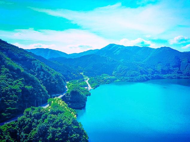 夢の中の湖