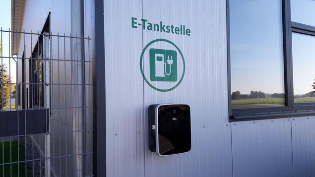 Elektrotankstelle, Elektroladestation, Elektroauto, E-Tankstelle, Aresing, Schrobenhausen