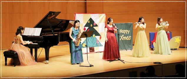 クリスマスコンサート。出演者も増えて賑やかに