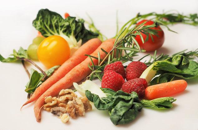 Gemüse und Obst bei Trockenen Augen