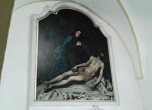 Antonio Solario detto Lo Zingaro Madonna della Croce Larino Convento Cappuccini
