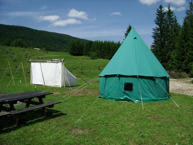 Décor Tente Merlin - Tente