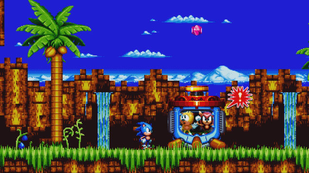 Beste Switch Spiele: Sonic Mania Plus