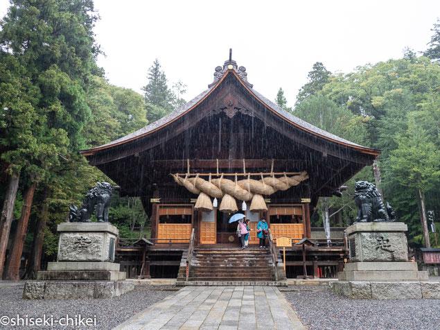 2018年9月29日撮影 秋宮神楽殿
