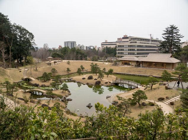 2017年3月31日撮影 玉泉院丸庭園