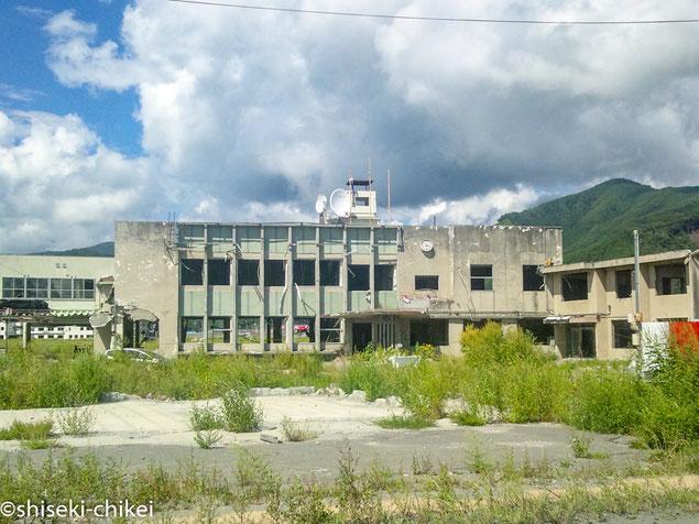 津波被害の大槌町役場