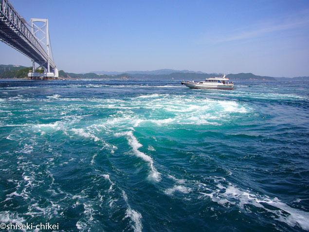 鳴門海峡うずしお観光船から