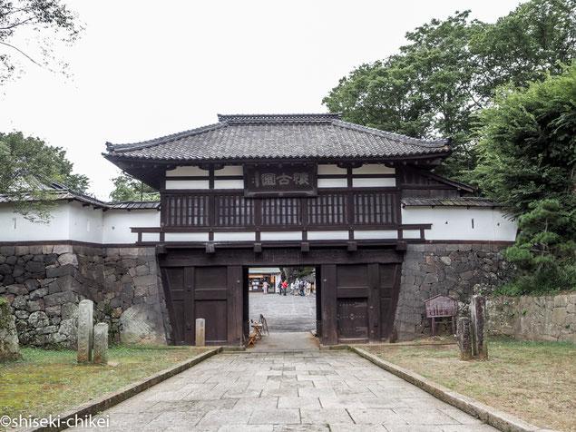 2014年9月1日撮影 小諸城三の門