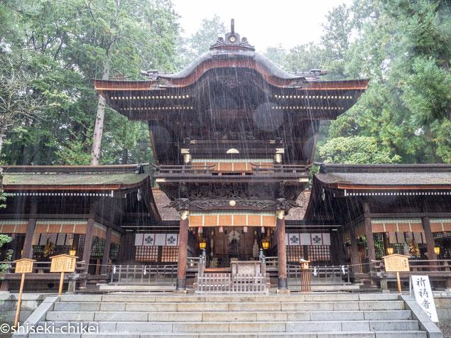 2018年9月29日撮影 秋宮幣拝殿