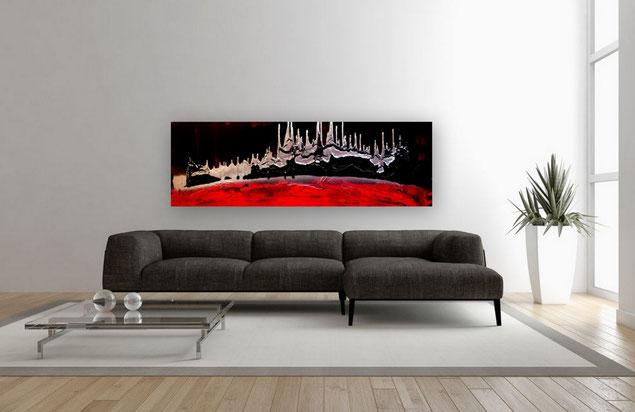 spannungsfeld bilder abstrakt moderne bilder xxl gro e bilder schwarz wei abstrakte. Black Bedroom Furniture Sets. Home Design Ideas